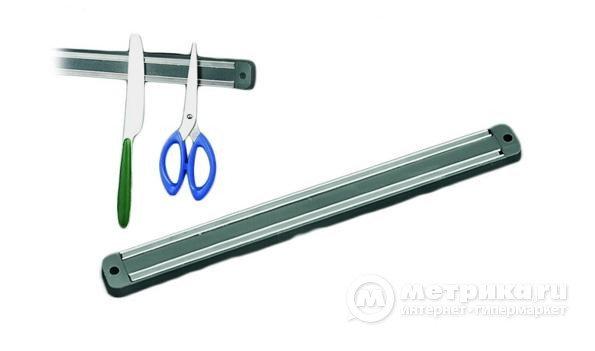 Держатель для ножей магнитный настенный 33см, фото 2