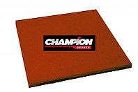 Резиновая плитка горячего прессования, 50смХ50см, 16 mm Красный, фото 1