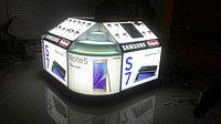 Gsm стенд для компании Samsung в городе Бишкек в новом магазине Сулпак