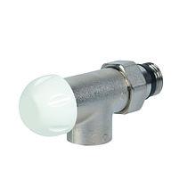 Клапан термостатический угловой (никель)