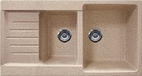 Кухонная мойка из искусственного камня Gran-Stone GS-98K (950х490мм)