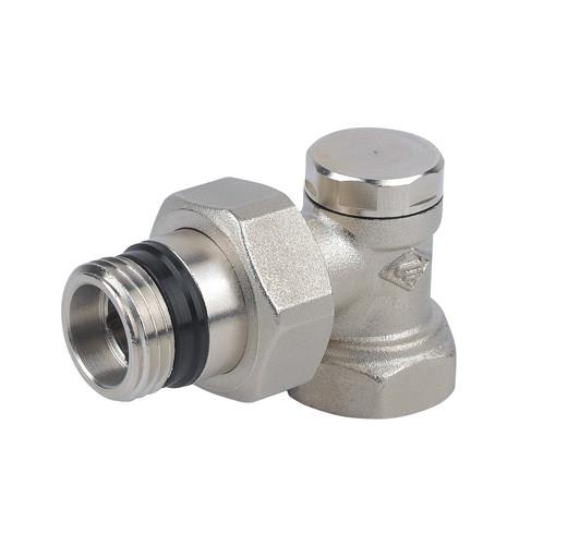 Клапан запорный угловой  (никель)