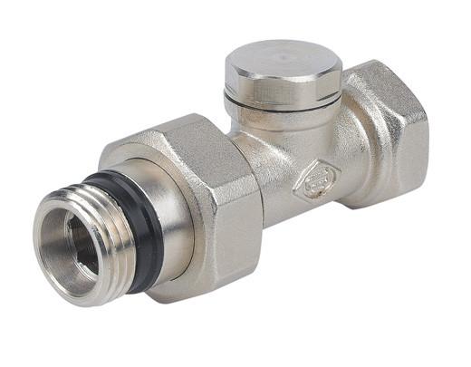 Клапан запорный прямой (никель)