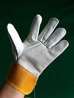 """Перчатки """"ЮКОН"""", кожаные, комбинированные, фото 1"""