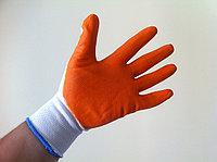 Перчатки Х/Б с латексом (ОБЛИТЫЕ - двойной облив), фото 1