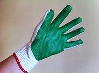 Перчатки Х/Б с нитрилом (ОБЛИТЫЕ - двойной облив) , фото 1