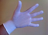 Перчатки нейлоновые белые 13 кл. вязкости, фото 1