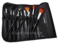Кисти для макияжа MAC в чехле, набор для макияжа (12 штук), фото 1