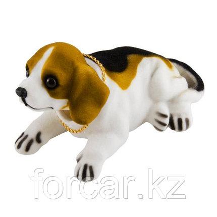 """Собака большая в машину с освежителем """"Ваниль"""" SKYWAY Бигль 16,5*8,5*9,5см, фото 2"""