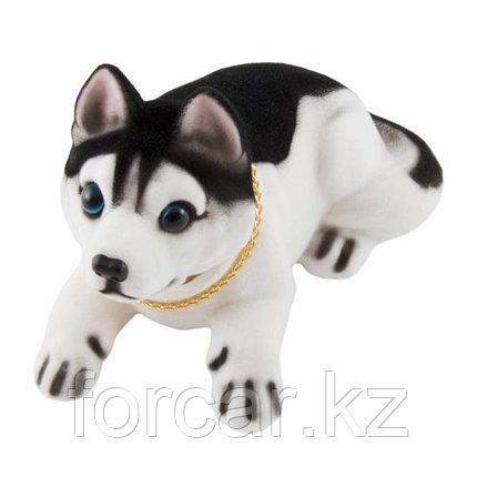 """Собака большая в машину с освежителем """"Яблоко"""" SKYWAY Хаски 16*8*10,5с, фото 2"""