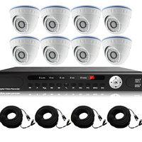 AHD готовый комлект видеонаблюдения из 8 внутренних камер, фото 1