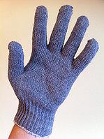Перчатки Х/Б серые (маша), фото 1