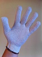 Перчатки Х/Б 7 кл. белые (плотная текстура) 999, фото 1