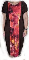 Платье из трикотажа 50+ всего за 12000 тг!+ 2-ое платье в подарок !