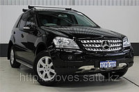 Родные накладки на бампера на Mercedes-Benz ML W164, фото 1