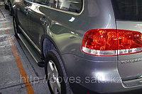 Родные пороги / подножки на VW Touareg 2003-2009