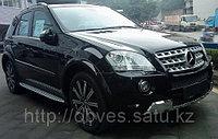 Родные пороги на Mercedes-Benz ML W164, фото 1
