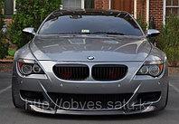 Карбоновая юбка на передний бампер BMW M6