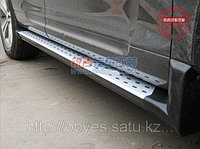 Родные пороги / подножки на новый Toyota Highlander (5 ВИДОВ), фото 1