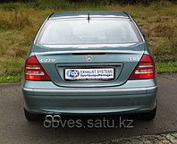 Спортивная выхлопная система FOX на Mercedes-Benz C-class W203