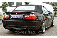 Спортивная выхлопная система FOX на BMW 3 E46 (СЕДАН/КУПЕ), фото 1