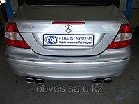 Спортивная выхлопная система FOX на Mercedes-Benz CLK-class W209