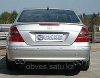 Спортивная выхлопная система FOX на Mercedes-Benz E-class W211