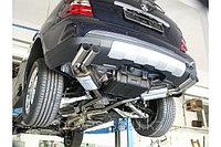 Спортивная выхлопная система FOX на Mercedes-Benz ML-class W164