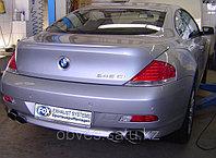 Спортивная выхлопная система FOX на BMW 6 E63