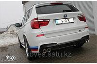 Спортивная выхлопная система FOX на BMW X3, фото 1