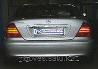 Спортивная выхлопная система FOX на Mercedes-Benz S-class W220, фото 1