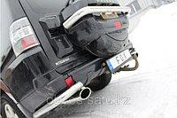 Спортивная выхлопная система FOX на Mitsubishi Pajero V80