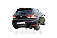Спортивная выхлопная система FOX на Volkswagen Golf (2008-2012), фото 1