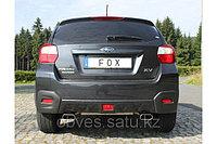 Спортивная выхлопная система FOX на Subaru XV