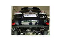 Спортивная выхлопная система FOX на Lexus RX 450h (2009+), фото 1