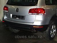 Спортивная выхлопная система FOX на Volkswagen Touareg I
