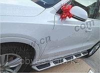 Родные пороги / подножки на Audi Q3 (3 ВИДА)