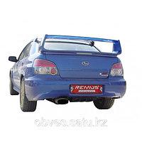 Спортивная выхлопная система Remus на Subaru Impreza 2006