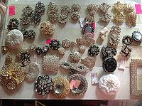 Пуговицы металлические со стразами, фото 1