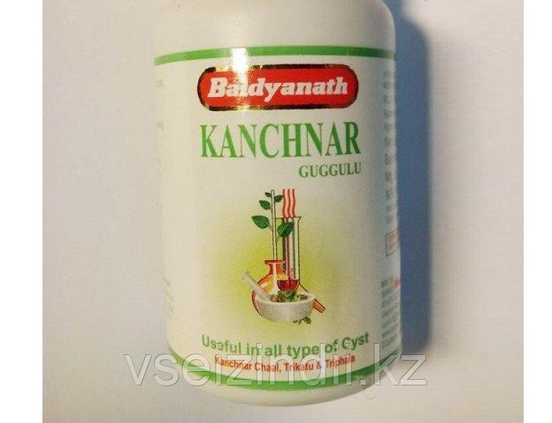 Канчанар гуггул, Байдьянахт  (Kanchanar guggulu, Baidyanath), 80 табл