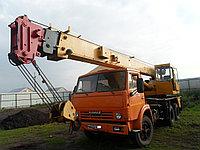 Автокран КС-4572а Галичанин грузоподъемностью 16 т смонтирован на шасси  стрела 21,7 м