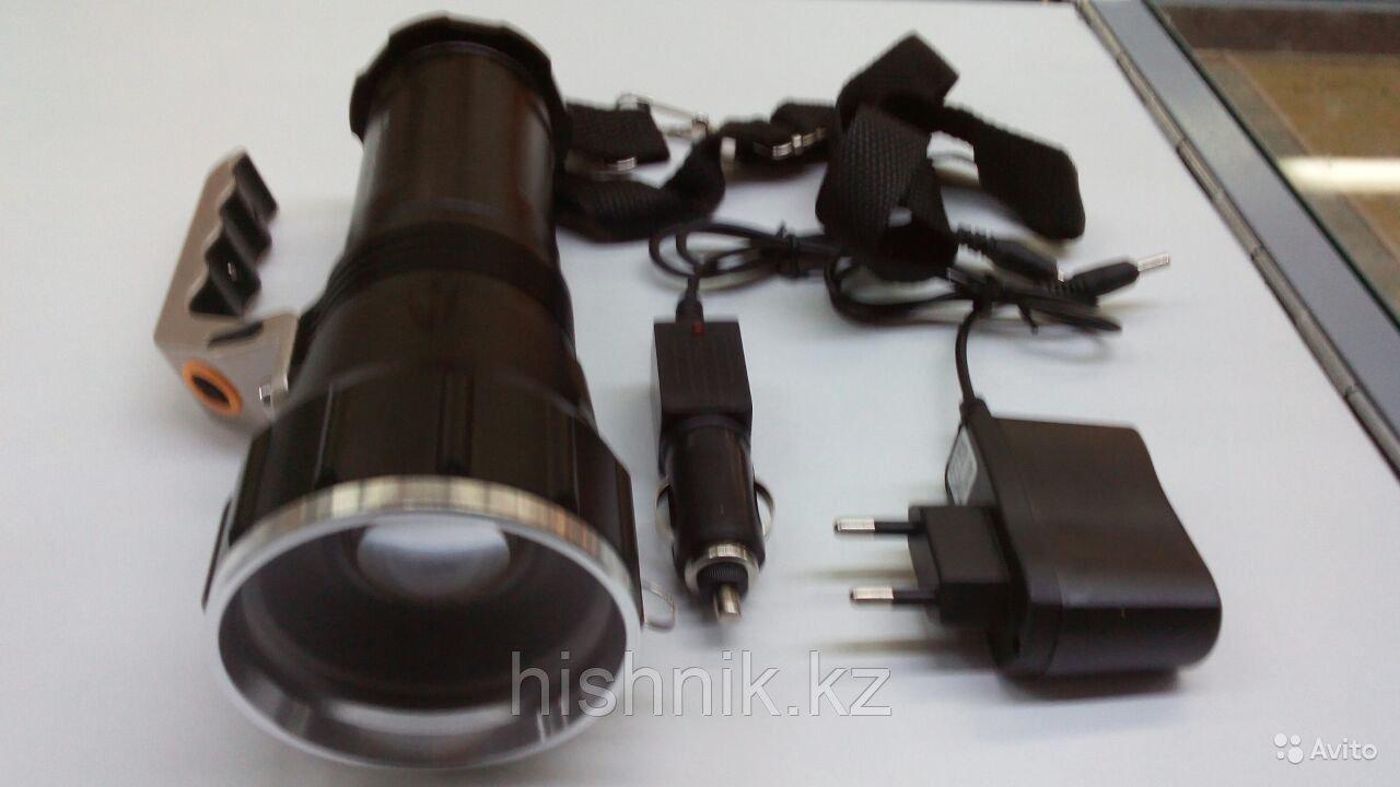 Фонарь LED черный орел модель 867
