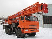 Автокран КС-55713 Галичанин грузоподъемностью 25 т смонтирован на шасси  стрела 21,7 м