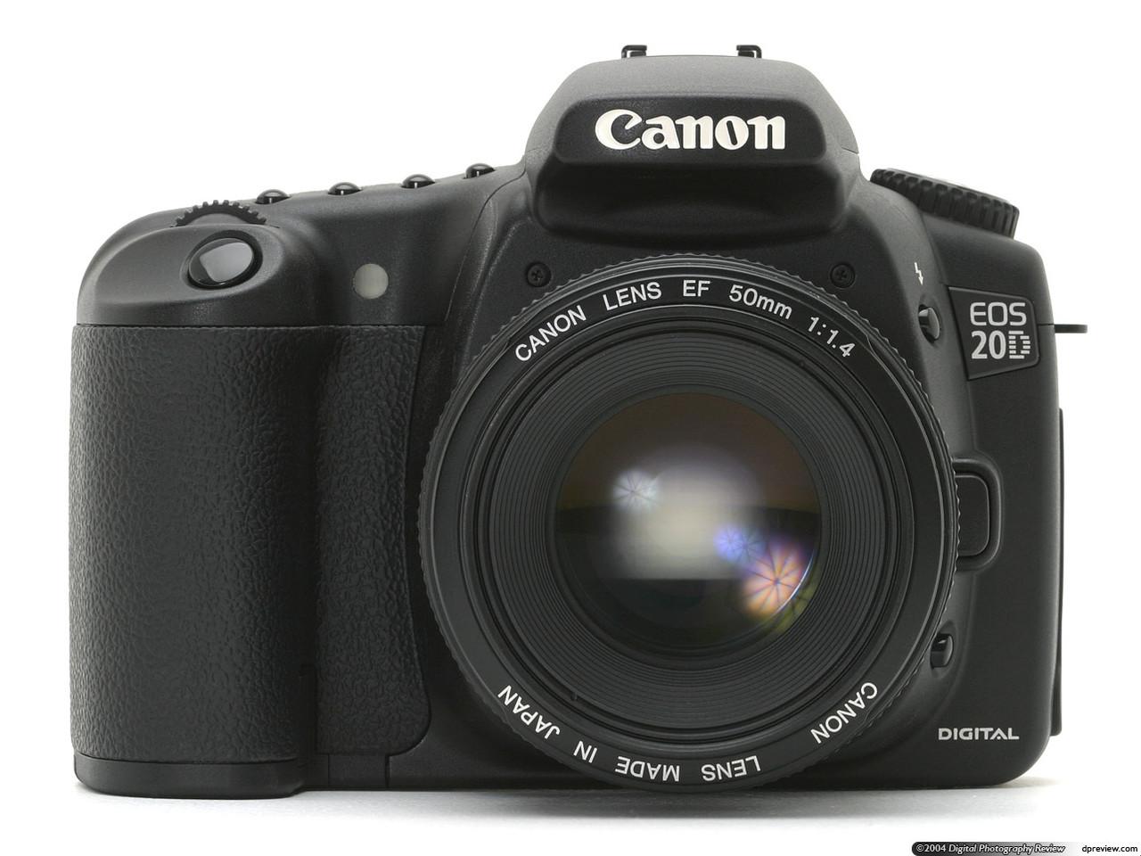 12 Инструкция на Canon EOS 20D