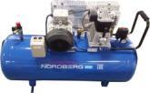 Компрессор поршневой с ременным приводом, объем 100 л NORDBERG ECO NCE100/400-220