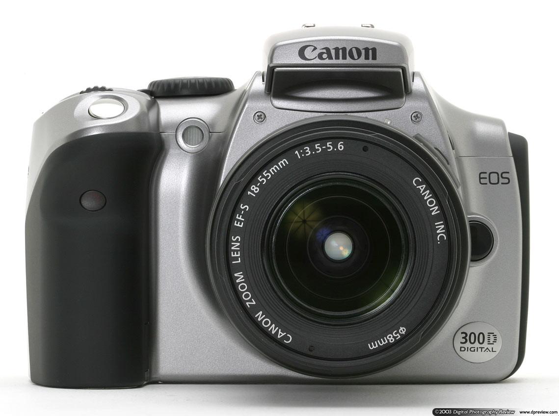 18 Инструкция на Canon EOS 300D