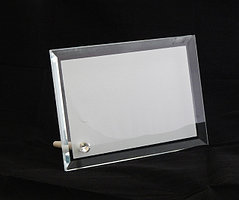 Стеклянная фоторамка для сублимации (BL-02),размер:130*180*10мм