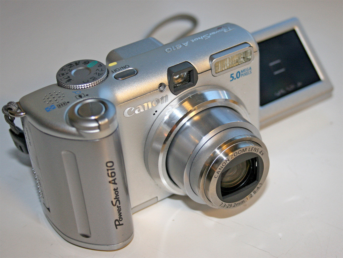 47 Инструкция на Canon Power Shot A610-620
