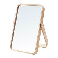 Зеркало настольное ИКОРННЕС ясень 27x40 см ИКЕА, IKEA