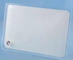 Стеклянная фоторамка для сублимации (BL-07),размер: 130х180х10мм